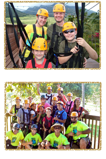 Maui's Best Ziplining value for the whole family